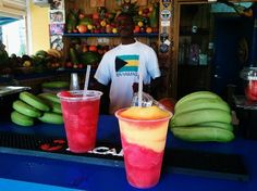The Daiquiri Shack in Nassau!!!! Best drinks... sure know how to get you feeling good.