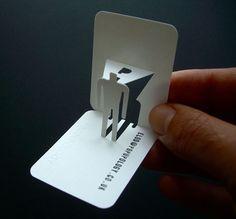 Papelaria, Visita, Cartão De Visita 3d, Design Do Pop, Idéias De Cartão,  Kirigami, Porsche, Cartões De Negócios, Gráfico