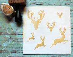 NőiCsizma | Szarvasos stencil-mini Stencils, Mini, Office Supplies, Notebook, Tableware, Design, Dinnerware, Desk Supplies, Tablewares