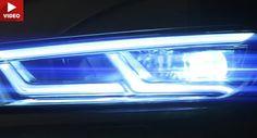 Neue Audi Q5 Teaser Vorschau Scheinwerfer Technik und Platz im Kofferraum Audi Audi Q5 Audi Videos New Cars Paris Auto Show Video