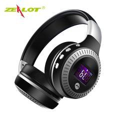 Earphones & Headphones Luminous Wireless Bluetooth Headset Deep Bass Headphones Sports Stereo Earphone With Mic Card Slot Rainbow Led Earphone Fashion Demand Exceeding Supply