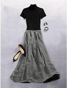 holiday hostess - Esta temporada tengo obsesion con las faldas largas, pineen ideas de como usar de una forma fresca y divertida