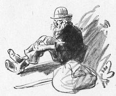 Illustrations pour La Chanson Des Gueux de Jean Richepin. Éditions Arthème Fayard & Cie - Modern-Bibliothèque 1913 (?)