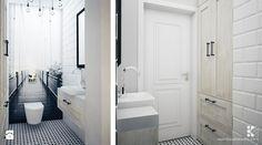 Łazienka styl Skandynawski - zdjęcie od Klaudia Tworo Projektowanie Wnętrz - Łazienka - Styl Skandynawski - Klaudia Tworo Projektowanie Wnętrz