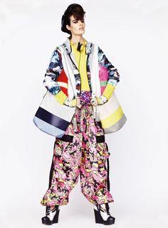 Sam Rollinson by Toby Knott for UK Vogue June 2013 ~ THE SHARPER