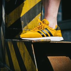 buy popular 39856 cd7d5 adidas Originals Iniki Boost  Yellow