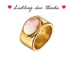 """Für alle die Frühlingsgefühle haben: Wunderschöner Ring von Sence  Copenhagen mit einem Bambusachat in """"kirschblütenzartfrühlingshaftem"""" rosa! http://www.auryn-naturfashion.com/epages/61235283.sf/de_DE/?ObjectPath=/Shops/61235283/Products/Se-R185-Ring-Bambusachat"""