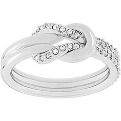 Knot Ring (promise ring) I actually would like one if not one like the original one simple... this would be so cute