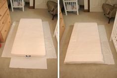 Custom fitted sheets tutorial...now that we've got an IKEA toddler bed, we need to give our girl some variety with her bedding!