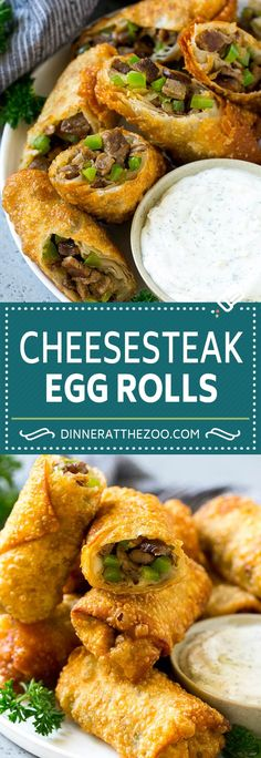 Selecting The Suitable Cheeses To Go Together With Your Oregon Wine Philly Cheesesteak Egg Rolls Beef Egg Rolls Philly Cheesesteak Appetizer Easy Appetizer Recipes, Best Appetizers, Dinner Recipes, Cheese Appetizers, Steak Appetizers, Holiday Appetizers, Party Appetizers, Appetizer Dessert, Party Snacks