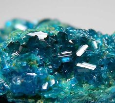 Caledonite from Reward Mine, California