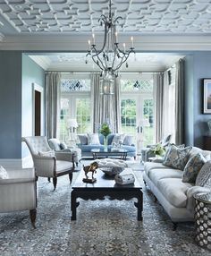 Blue and grey decor gray and blue living room ideas brilliant grey decor co with regard . blue and grey decor blue living room Living Room Modern, Living Area, Living Rooms, Interior Decorating, Interior Design, Decorating Ideas, Bedroom Plants, Beautiful Interiors, Portfolio Design