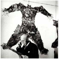 Examination of tattoed human skins - 1946 © Horace Bristol