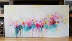 painting abstract acrylic contemporaryoriginal by artbyoak1