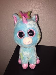 f6b2234f864 Ty Beanie Boo Treasure Justice Exclusive Missing Hang Tag Light Marks On  Eyes Missing Butt Tag