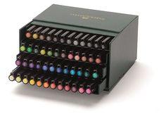 799 Faber-Castell - PITT Artist Pen Brush - Studio box med 48 stk (167148) - Fri fragt