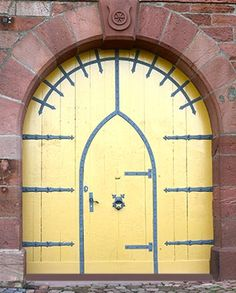castle door miltenberg germany