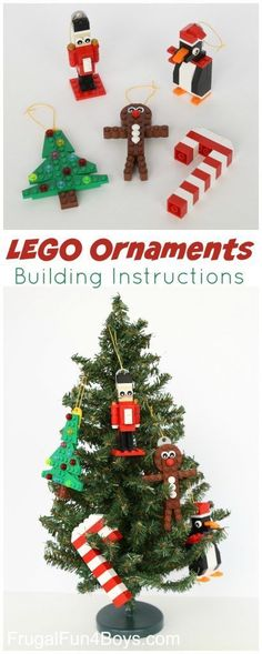 Five LEGO Christmas Ornaments to Make (With Building Instructions!) More