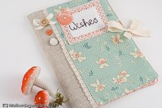 By Mulher de Gengibre (flickr) Pretty Journal Cover