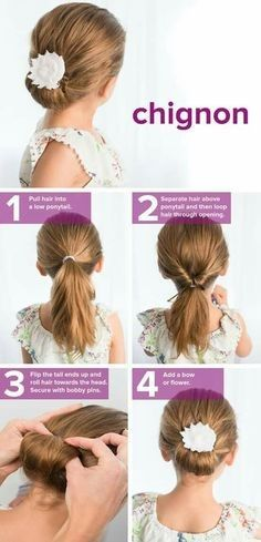 Simple Hairstyles For Short Hair For Kids Little Girl Hairstyles Flower Girl Hairstyles Girl Hair Dos