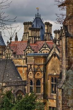 Tyntesfield House, Wraxall, North Somerset, England. Architect: John Norton, 1863.  Image: Roger Nichol on Flickr.