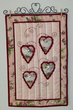 Val Laird Designs - Journey of a Stitcher: wall quilts and hangings