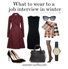 What to wear to a job interview in winter