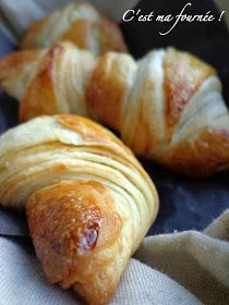 This is my batch: Nobody will fetch the croissants . with Christophe Felder! Croissants, Breakfast Dessert, Perfect Breakfast, Chefs, Donuts, Croissant Recipe, Cuisine Diverse, Cooking Bread, Flaky Pastry