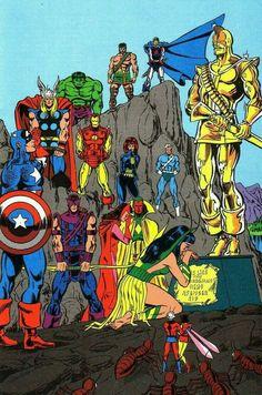 Marvel Avengers, Marvel Comics Superheroes, Marvel Comic Universe, Marvel Comic Books, Comics Universe, Marvel Art, Marvel Heroes, Avengers Pictures, Comic Pictures