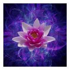 Resultado de imagen de flor de loto de cristal