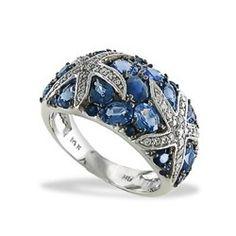 Na Hoku Blue Sapphire Rings