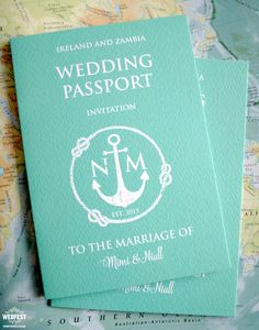 passport wedding invitations http://www.wedfest.co/passport-wedding-invitations/