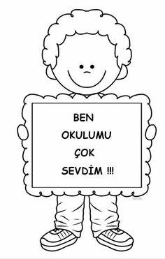Turkish School, Preschool Education, English Classroom, Karma, Back To School, Activities For Kids, Diy And Crafts, Science, Banner