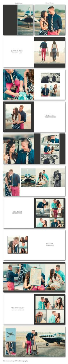 Wedding Reception Album Template