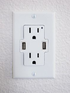 $10 USB power outlet leaves no plug behind -- cool!