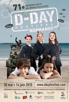 Le D-Day Festival Normandy propose un programme de manifestations festives dans le cadre de l'anniversaire du Débarquement allié en Normandie le 6 juin 1944. #FranceFR #Rendezvousenfrance #Normandie #DDay
