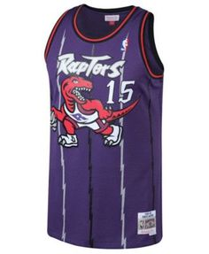 2f8f0c5e6f6f Mitchell   Ness Big Boys Vince Carter Toronto Raptors Hardwood Classic  Swingman Jersey - Purple