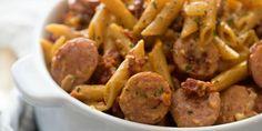 Best Sun-Dried Tomato & Sausage Pasta Recipe-How To Make Sun-Dried Tomato & Sausage Pasta—Delish.com