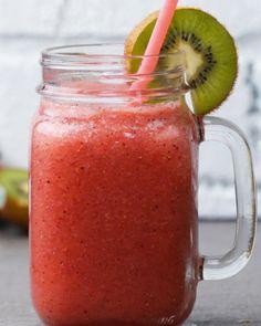 Strawberry+Kiwi+Smoothie
