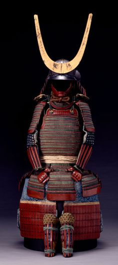 A Samurai Warriors Armor, the Gold Arch on the Helmet is indicative of the Rings of the God of Saturn, also seen in Egypt, South America, and Greek and Roman Art. At one time all of these lands were interconnected by the Continents of Atlantis and Lemuria, and Planetary worship was the Norm.