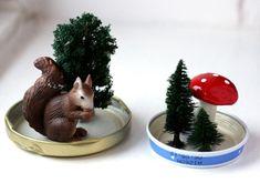 Manualidad bolas de nieve - Manualidades para decorar - Manualidades para niños - Charhadas.com