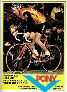 Advertentie van Pony, na Tour de France-zege van Joop Zoetemelk.