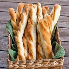 Twisted Parmesan Breadsticks - homemade breadsticks in under an hour