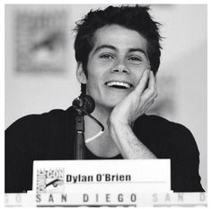Day 1: DYLAN O'BRIEN IS MY FAVORITE CHARACTER ON TEEN WOLF!!!!!!!! I mainly watch the show just to see what he says! Lol