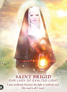 St Brigid, Soul Connection, Angel Cards, Oracle Cards, Divine Feminine, Our Lady, Tarot, Mona Lisa, Saints