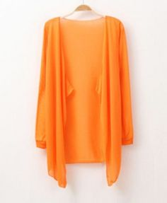 Candy Color Irregular Cardigan - Knitwear - Clothing