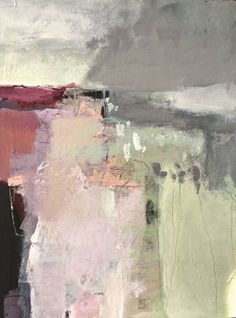 Before the Rain-abstract by Joan Fullerton Acrylic ~ 40 x 30 #abstractart