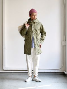 THE NORTH FACE PURPLE LABEL Field Coat Asian Men Fashion, Japan Fashion, Mens Fashion, Engineered Garments, Outfit Grid, Mens Fall, Japanese Street Fashion, Weekend Style, Gentleman Style