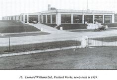 Brentford:Great West Road: Packard Works 1929 | Flickr - Photo Sharing! London History, Local History, Ww2 Bomb, West Road, Brentford, London Transport, Vintage London, Rare Pictures, West London