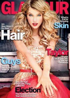 Taylor Swift covers the November issue of Glamour.